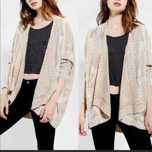 (Last chance) Urban Outfitters Open Sweater medium